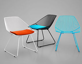 Bunny Lounge Chair by Bend Seating 3D