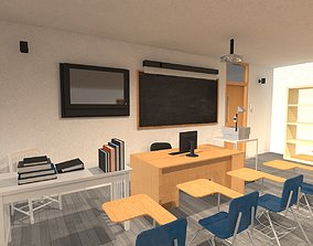 furniture 3D Classroom