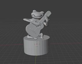 singing frog 3D model
