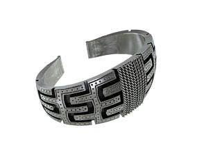 Viking Age Bracelet 3D print model