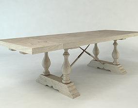Farm Table Vintage 3D model