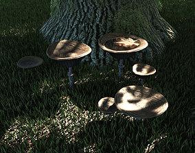 Fungus set 1 3D model