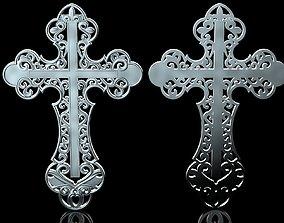 3D print model Openwork Cross