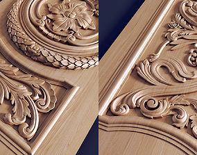 3D print model Carved door decorative