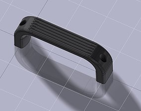 Door handle V2 3D print model hobby