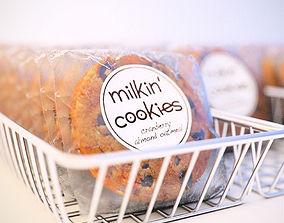 Milkin Cookies 3D model