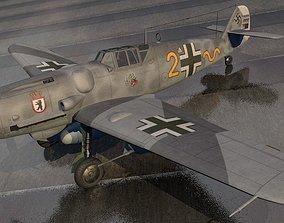 Messerschmitt Bf-109 G-6 Gustav 3D model