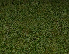 ground grass tile 29 3D