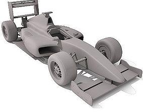 3D model Detailed Formula1