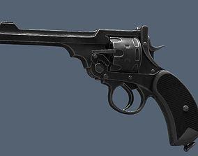 Webley Revolver 3D model