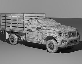 3D asset nissan np300 estaquitas