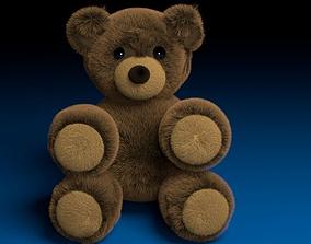 Teddy Bear 3D model realtime