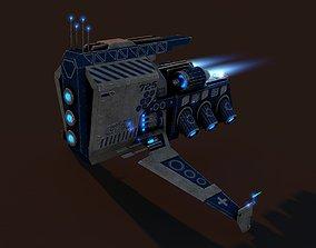 3D model Spacecraft Mini