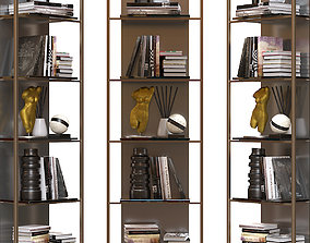 Bookcase Uffizio 3D