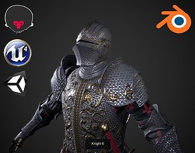 Knights collection 3D model