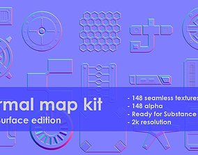 Normal map kit Hard Surface edition 3D