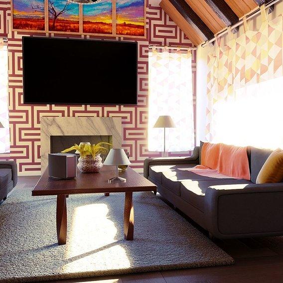Warm Livingroom