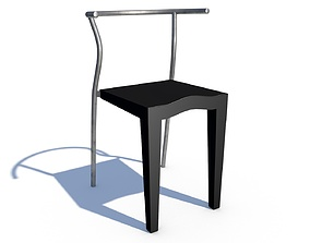 Chair Dr Glob from Kartell 3D model