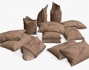 VOC - Dutch East India Company Bulk Bags Assets 3D model