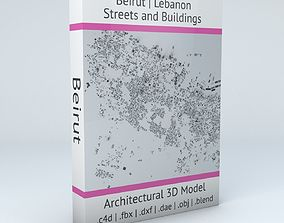 3D Beirut Streets and Buildings