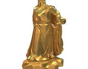 3D print model Guan Yu 15