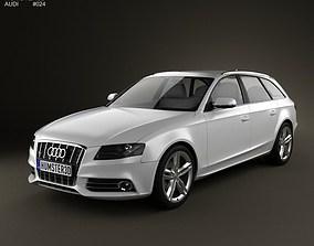 Audi S4 Avant 2011 3D