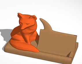 Mr Fox Says Card Holder 3D printable model