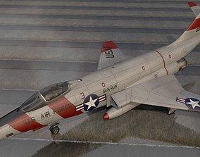 3D McDonnell RF-101C Voodoo