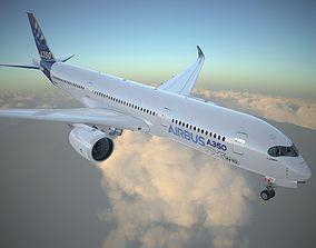 Airbus A350-XWB Cockpit 3D model | CGTrader