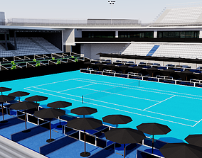 ASB Tennis Centre - Auckland New Zealand 3D