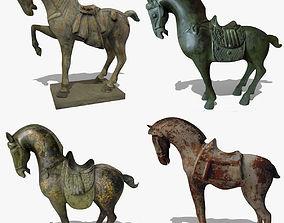 3D model Horse Statuettes Collection volume 4
