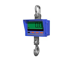 3D model Weighing-machine