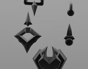 3D print model Overwatch Nevermore Reaper Accessories