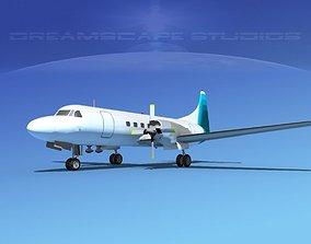 3D model Convair CV-580 Corporate 7
