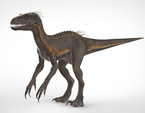game-ready Indoraptor Model