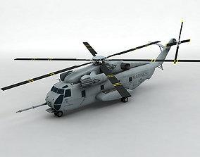 Ch-53D Sea Stallion Helicopter VR / AR ready