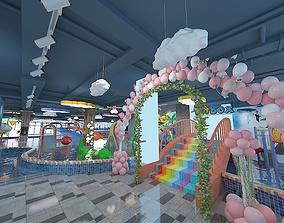 Indoor Children Playground 3D