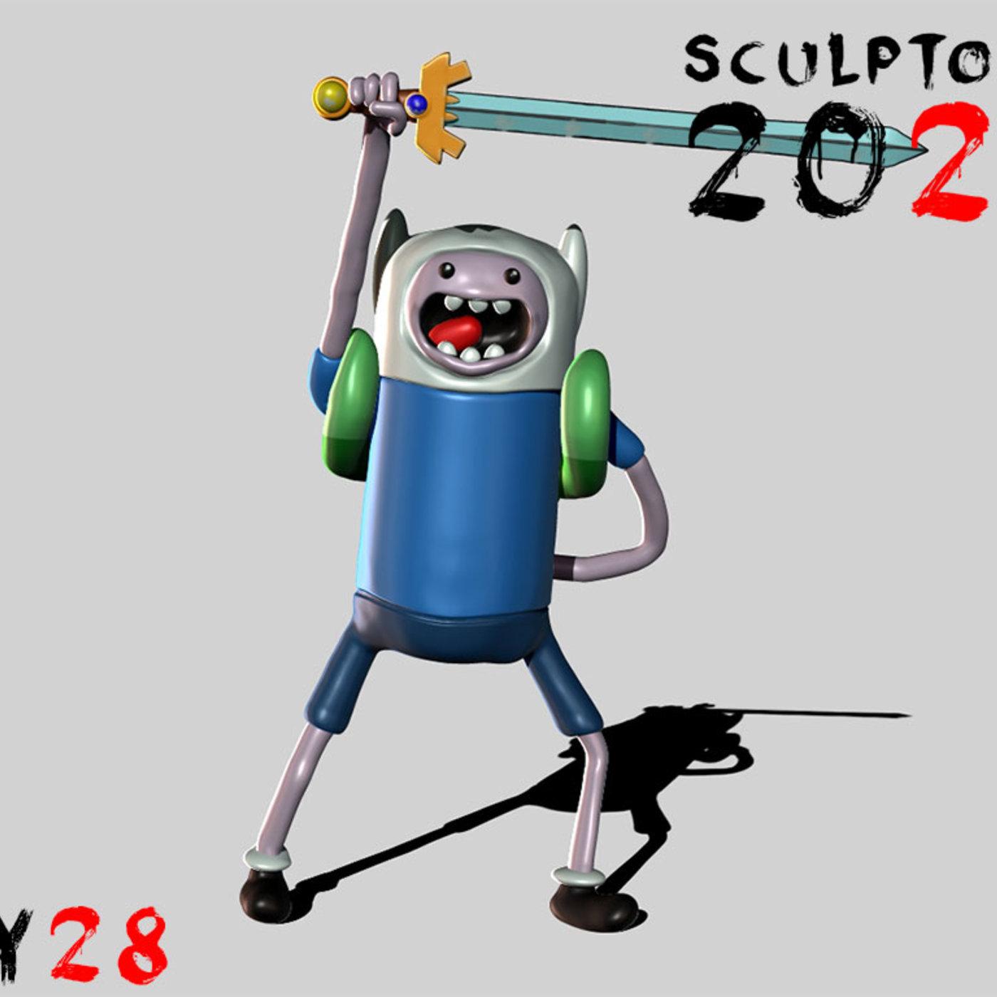 Sculptober Day 28 Adventure