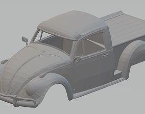 Volkswagen Beetle Pick Up Printable Body Car