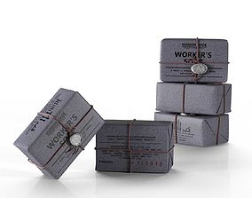 Hudson Made Worker Soap 3D model