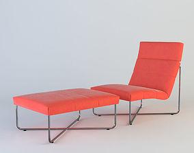 lounger 3D sofa