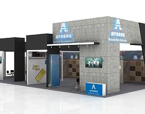 interior 3D Exhibition Booth