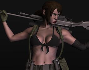 Quiet - Metal Gear Solid 5 Phantom 3D printable model
