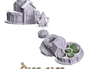 Dice case paladin 3D print model