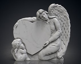 Angel monuments 3D print model