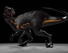 Indoraptor Jurassic World 3D asset