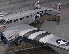 aircraft Beechcraft Model-18 C-45 Expeditor