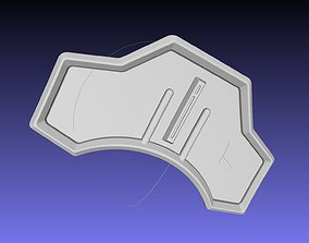 Star Wars Mandalorian Cara Dune Back 3D printable model