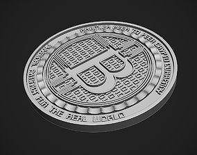 Anonymous Owl Bitcoin 3D print model