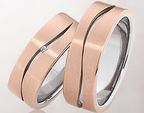 3D print model Wedding ring 021
